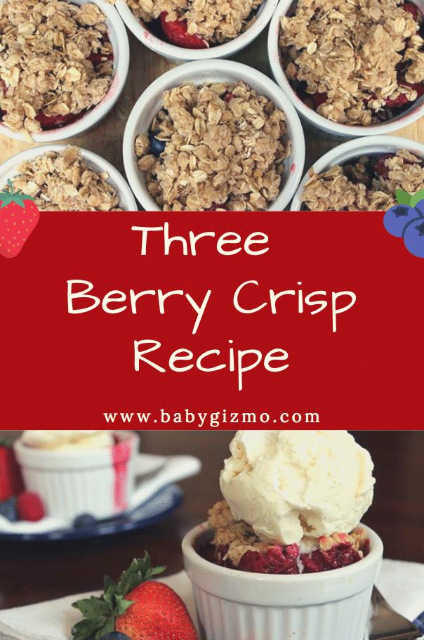 three berry crisp