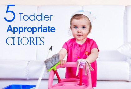 Toddler-Appropriate Chores