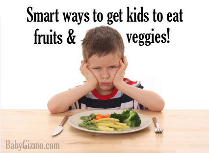 Smart And Sneaky Ways To Get Your Kid To Eat Their Fruits And Vegetables