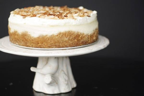 Triple Coconut Cheesecake