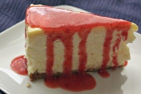 Strawberry Lemonade Cheesecake