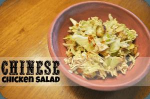 chinese chicken salad 600w