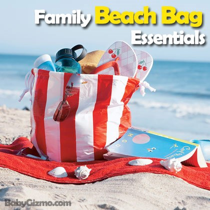 Family Beach Bag Essentials