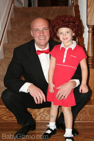 daddy warbucks and annie costume