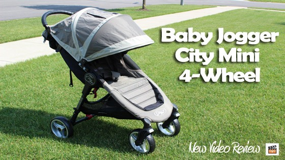 Baby Jogger City Mini 4-Wheel Stroller Spotlight Video Review