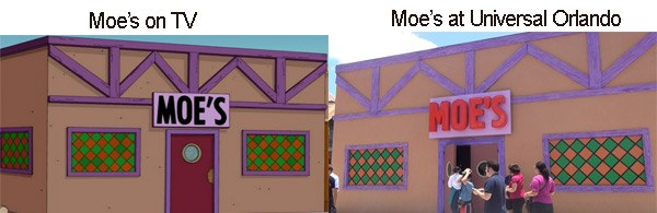 moes Simpsons Moes Tavern at Universal Orlando Review Video