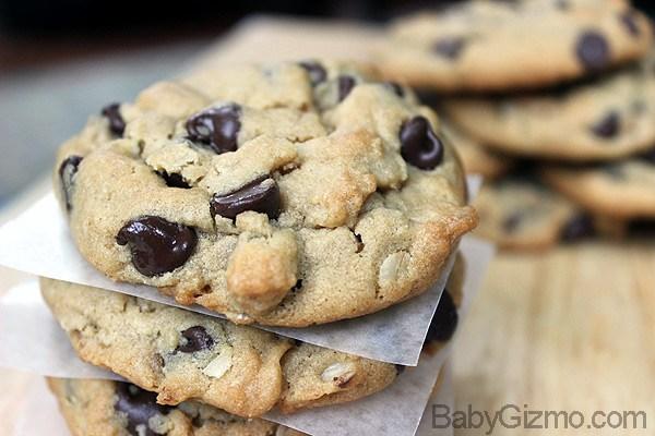 Peanut Butter Cookies stack of cookies