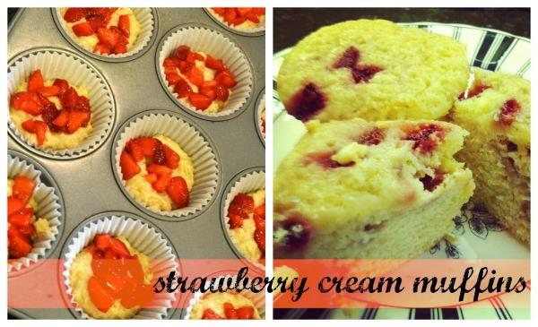strawberry cream muffins 600w