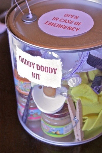 daddy gift kit for new baby