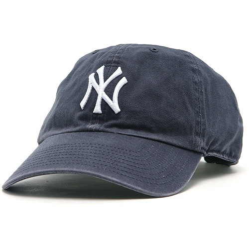NY sports hat for baby
