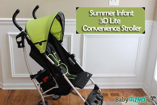 Summer Infant 3D Lite Convenience Stroller Video Review