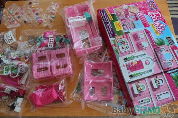 Barbie Mega Blocks