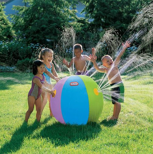 beachballsprinkler Fun and Safe 4th of July Activities for Kids