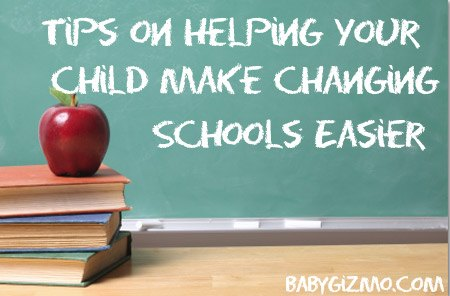 Tips On Helping Your Child Make Changing Schools Easy