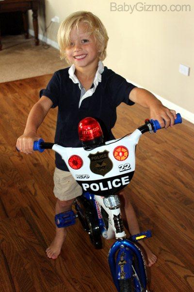 Big Kid on a bike