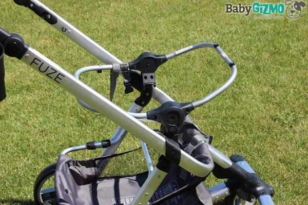 summer infant fuze stroller video review baby gizmo. Black Bedroom Furniture Sets. Home Design Ideas