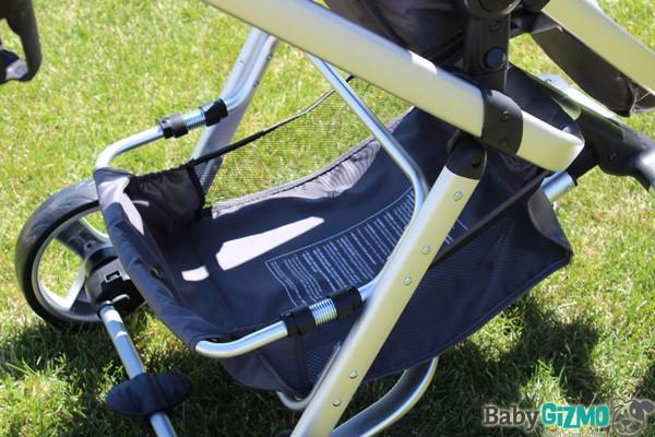 fuzebasket2 Summer Infant Fuze Stroller Video Review