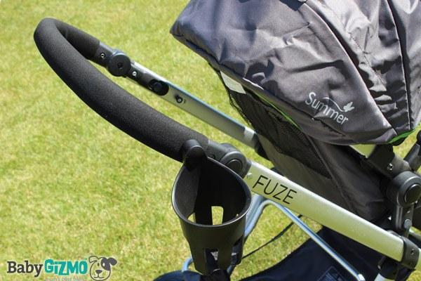 fuzehandle Summer Infant Fuze Stroller Video Review