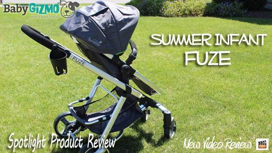 homead672 Summer Infant Fuze Stroller Video Review
