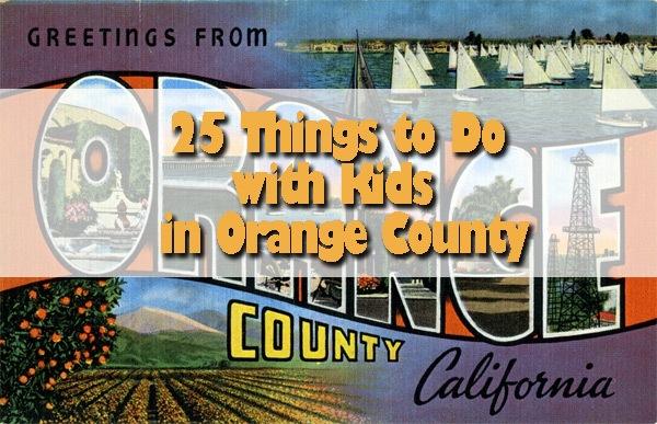 Orange County activities with kids