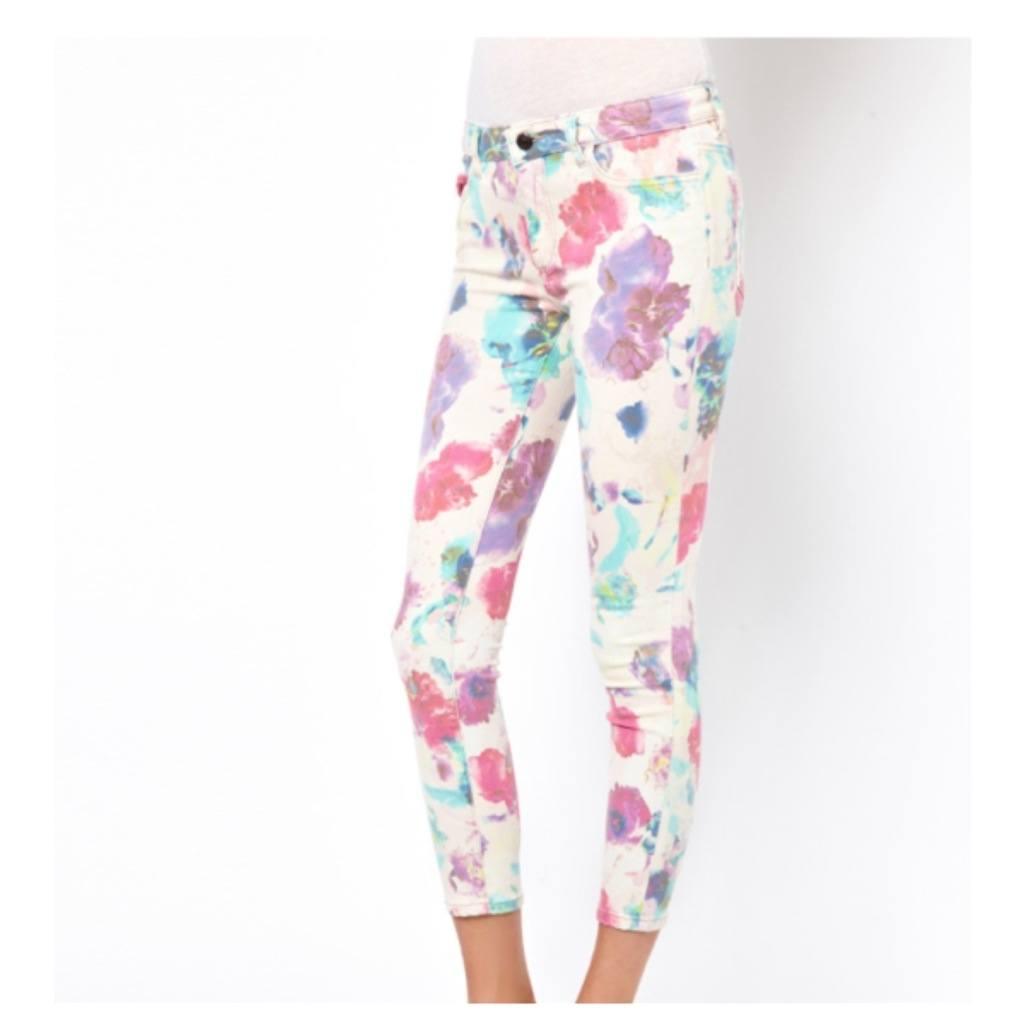 asos floral jeans