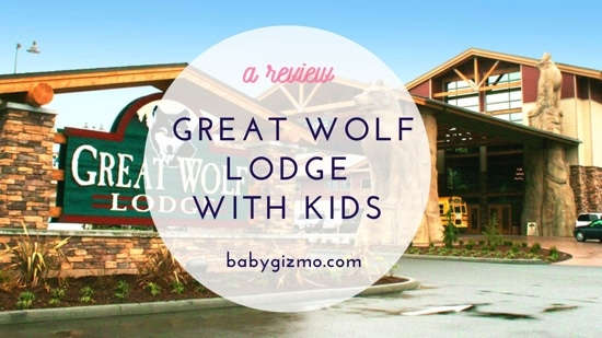 When the Babies Visit Great Wolf Lodge
