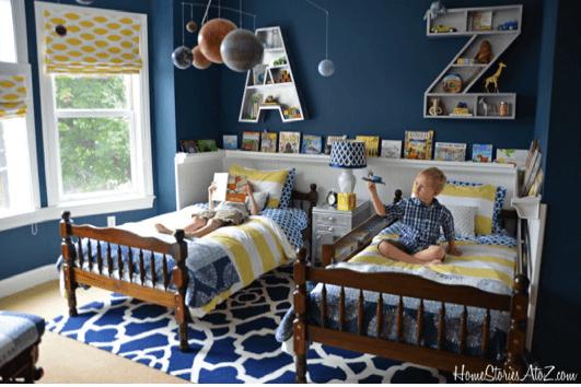 two boys room