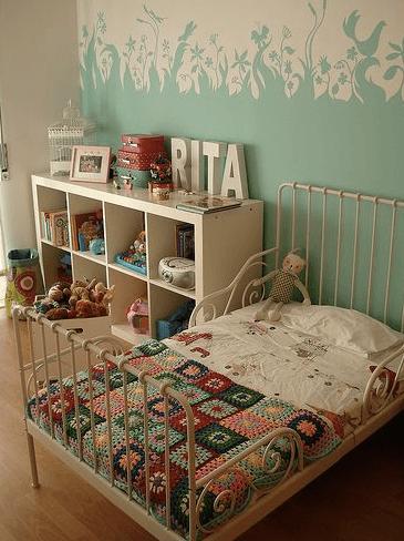 granny square bed