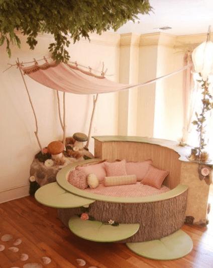 circle bed