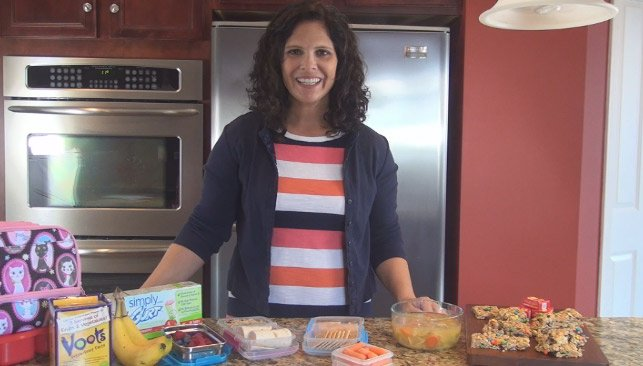 Back to School Lunch Ideas (VIDEO)