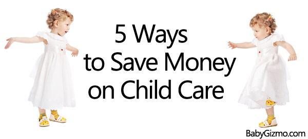 5 Ways to Save Money on Child Care