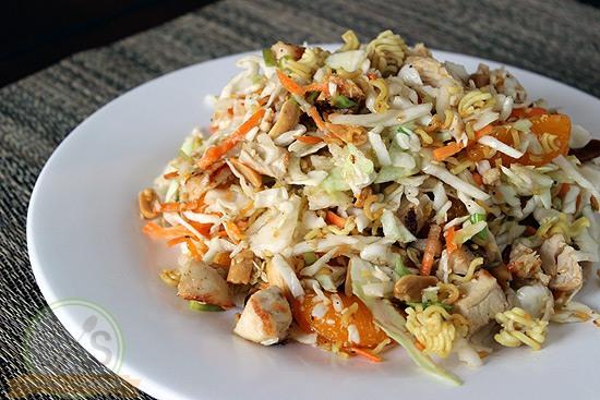 Mandarin Chicken Salad closeup