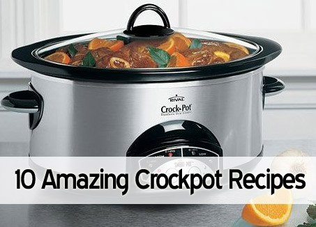 10 Amazing Crock Pot Recipes