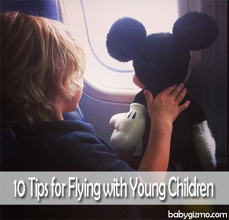 10 Tips on Flying With Young Children