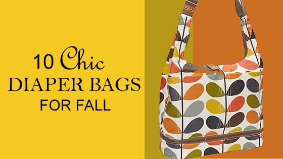 10 Great Fall Diaper Bags