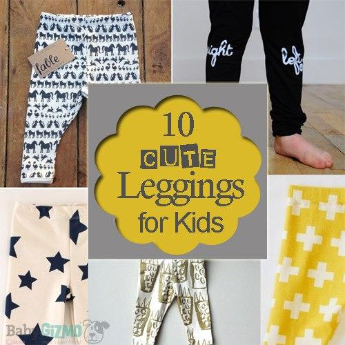 10 Best Leggings For Your Kids