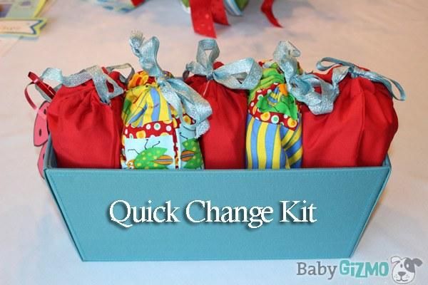 quickchangekit Baby Shower Gift Idea: Quick Change Kit