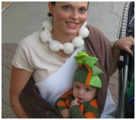 DIY Babywearing Halloween Costumes