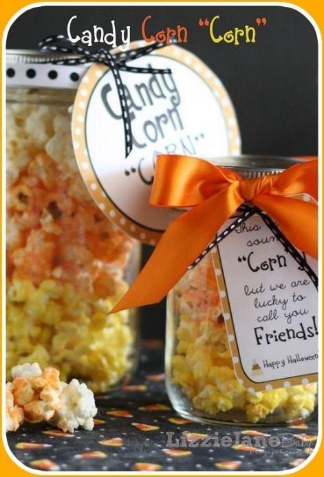 candy corn jars