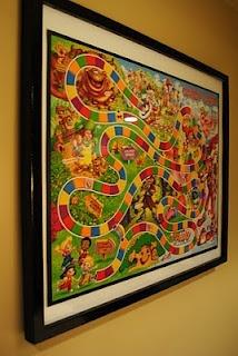 candyland framed game