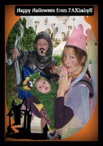 PAXbaby Halloween 2011 border