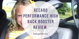 Recaro Performance High back booster