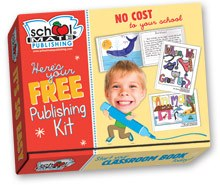 See Your Child's Art and Writing in Print!