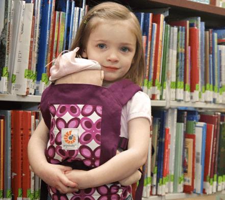 Mini Babywearing | Babies Carrying Babies