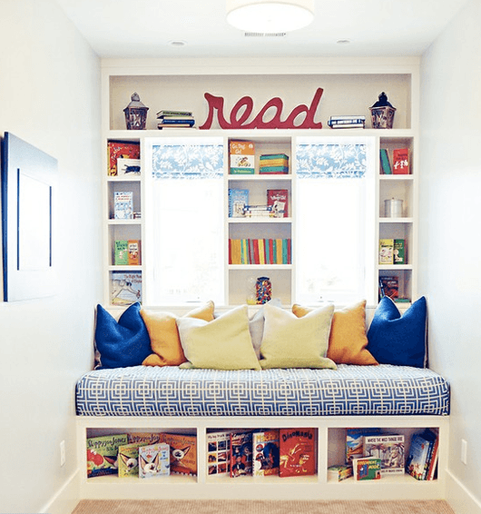 Cozy Reading Space Ideas for Kids
