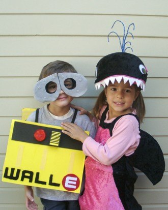 Wall E and Whale