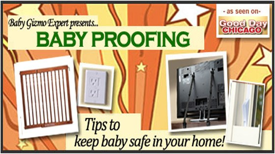 Baby Gizmo Baby Proofing Tips on Good Day Chicago