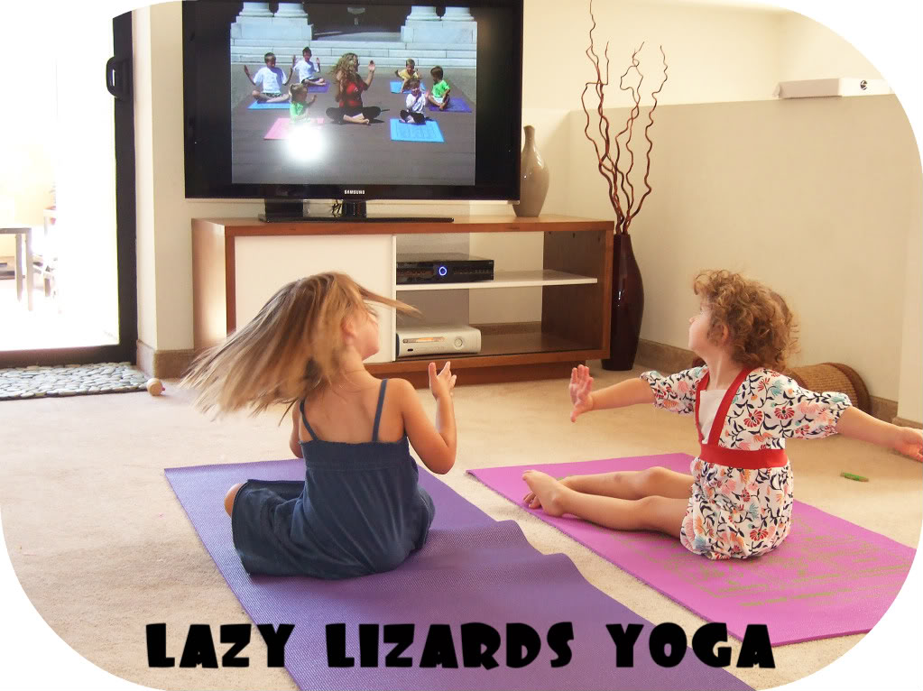 lazy lizard yoga