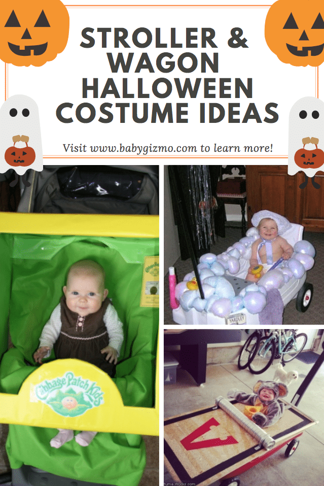 10 Great Stroller/Wagon Halloween Costumes