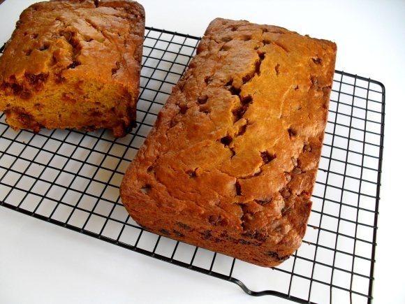 eggnog pumpkin bread